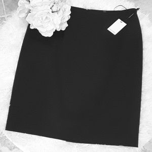 Calvin Klein Classic Black A Line Skirt